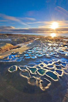 La Jolla beach at low tide - San Diego, California  ( by Sameer Pathak on 500px )