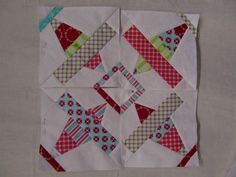 : I couldn't find this exact block, but I found one that is really close. The free quilt Block pattern for May 2006 is a cute Airplane block. This is a Foundation (AKA paper Pieced) pattern. The patterns are available for 4 inch, 6 inch, and 8 Paper Piecing Patterns, Quilt Block Patterns, Pattern Blocks, Quilt Blocks, Quilting Projects, Quilting Designs, Quilting Ideas, Airplane Quilt, Quilt Modernen