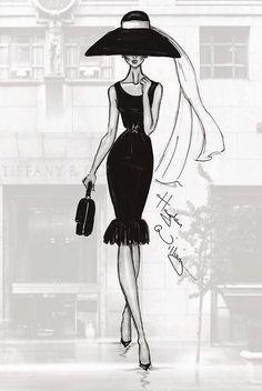 A trip to Tiffany's ~ Breakfast At Tiffany's: Holly Golightly ~ Audrey Hepburn