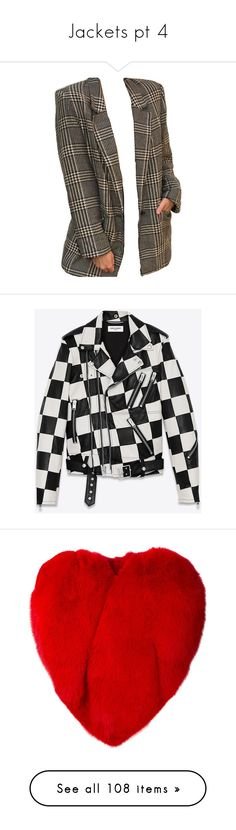 """""""Jackets pt 4"""" by styledbyry ❤ liked on Polyvore featuring jacket's, men's fashion, men's clothing, men's outerwear, men's jackets, jackets, leather jacket, outerwear, saint laurent and tops"""