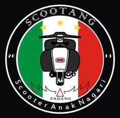 Padang, Juventus Logo, Scooters, Team Logo, Bike, Vintage, Design, Vespas, Logos