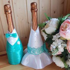 20 отметок «Нравится», 1 комментариев — Елена (@vssvadba) в Instagram: «Тили-тили тесто...жених и невеста❤ Оформление бутылочек на свадьбу #свадебноеоформление…»