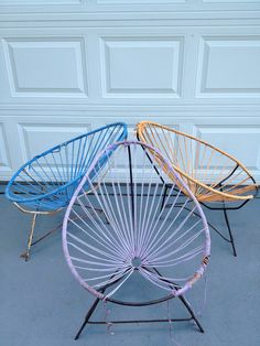 Vintage Mid Century Modern Acapulco Chair Ocho Workshop Rope Chair String Chair by Modern Logic Three Available. $55.00, via Etsy.