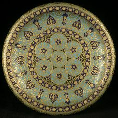 Orientalism : Maison Barbedienne, Ornamental plate with Persian decor, between 1870 and 1880, cloisonné enamel on copper, Musée d'Orsay, Paris Collections Catalog, Architectural Antiques, Grand Palais, Decoration, Decorative Bowls, Hand Painted, Tableware, Glass, Between