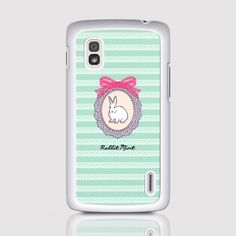 LG Nexus 4 Case - Portrait Rabbit - Mint D2153-NX4(W) https://www.etsy.com/hk-en/listing/169718748/lg-nexus-4-case-portrait-rabbit-mint?ref=related-0
