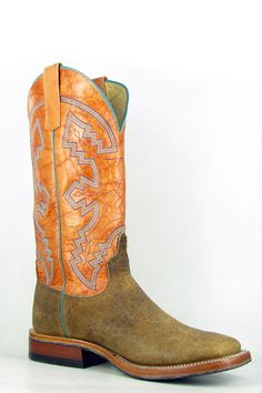 The Perfect Anderson Bean American Buffalo Distressed Cowboy Boots