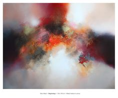 Beginnings, 130 x 100 cm Available at Claremont Gallery, Sevenoaks, UK Abstract Paintings, Painting Art, Abstract Art, Modern Art, Contemporary Art, Gallery, Artwork, Inspiration, Pintura