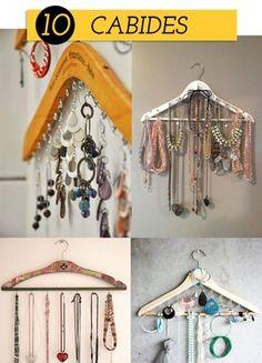 10 cabides 10 dicas criativas e divertidas de como organizar as bijoux!