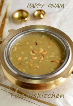 Ada Pradhaman Recipe-Kerala style (with jaggery and coconut milk)-Onam Sadya Menu Recipes - Padhuskitchen Indian Desserts, Indian Sweets, Indian Snacks, Indian Dishes, Indian Food Recipes, Vegetarian Recipes, Kerala Recipes, Goan Recipes, Rice Recipes