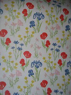 Vintage Laura Ashley wallpaper, Floral print, flower, flowers, floral, flora