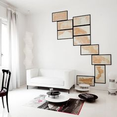 Map wall decoration