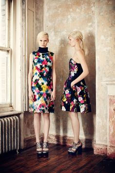 The New Evening: Erdem pre-fall 2013