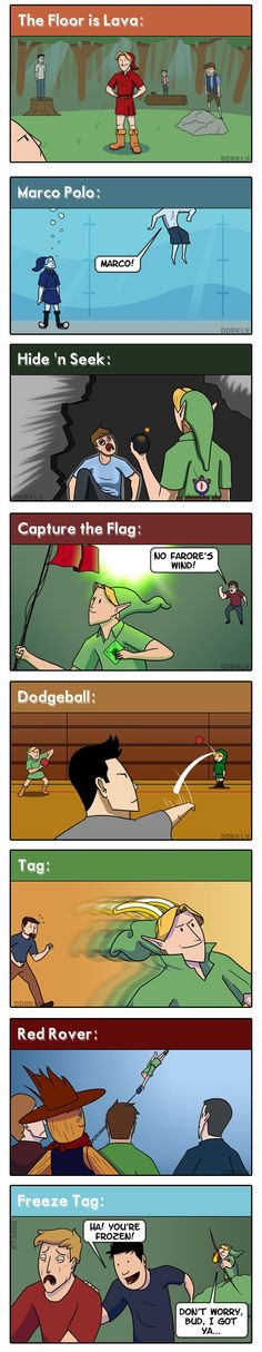 Link wins at everything