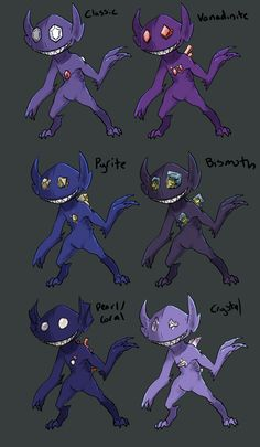 """to try some subspecies? Sableye seemed cool :""""Y maybe i'll do more later.Bonus par request of the BF:Shiny Swagleye Pokemon Names, Pokemon Breeds, Pokemon Pins, Play Pokemon, Pokemon Comics, Cute Pokemon, Pokemon Stuff, Creepy Pokemon, Pokemon Stadium"""