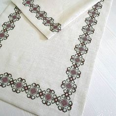 Image may contain: jewelry Hand Embroidery, Embroidery Designs, Cross Stitch Embroidery, Cross Stitch Borders, Crochet, Crafts, Jewelry, Image, Craft