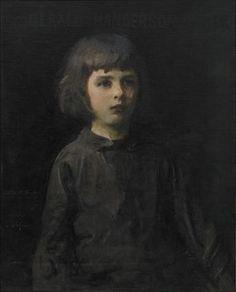 Abbott Thayer Paintings   Title:Portrait of the Artist's SonArtist:Abbott Handerson ThayerOwner ...