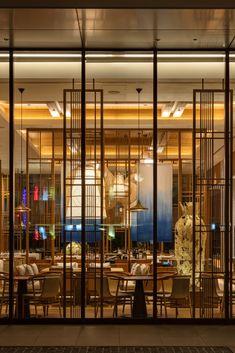 "JW Marriott Hotel Nara, Japan - dpa lighting consultants - ""Right Light, Right Place, Right Time"" ™ #dpalighting #lightingdesign #hotellighting #barlighting #restaurantlighting #pendant #chandelier #uplighting #warmlight #downlights #concealedlight #covelighting"