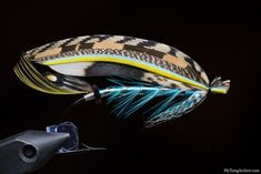 The Greenwell classic salmon fly using T.E. Pryce-Tannatt's pattern  (Fly Tying Archive)