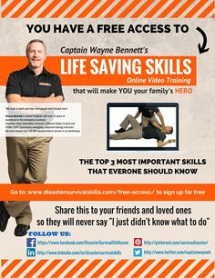 Join me on my free online training here:http://www.disastersurvivalskills.com/