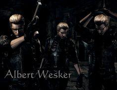 Albert Wesker by AlbertXExcellaLover on DeviantArt