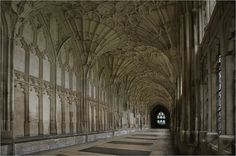 Gloucester Cathedral (Harry Potter) in England
