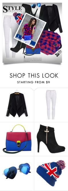 """Shein 6 (IV)"" by aida-banjic ❤ liked on Polyvore featuring WithChic, Aspinal of London, Coal and shein"
