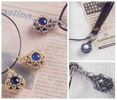 openwork twining beads 12 mm, key chain, pendant
