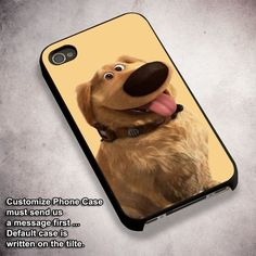 Dug the Dog from Disney Pixar UP - For iPhone 4/ 4S/ 5/ 5S/ 5SE/ 5C/ 6/ 6S/ 6 PLUS/ 6S PLUS/ 7/ 7 PLUS Case And Samsung Galaxy Case
