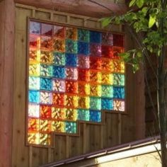 glass block windows | Hot Projects with Colored Glass Block Windows, Walls & Showers