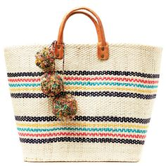9 Stylish Beach Bags - Photo by: Courtesy of Everything But Water http://www.womenshealthmag.com/style/best-beach-bags