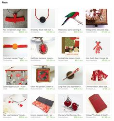 Reds by Miho on Etsy Esty, Advent Calendar, Holiday Decor, Red, Gifts, Home Decor, Presents, Decoration Home, Room Decor