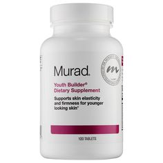 Shop Murad's Youth Builder® Dietary Supplement at Sephora. This supplement combats the visible signs of aging.
