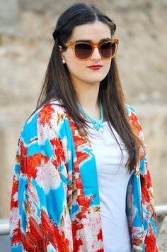 #kimono #blue #somethingfashion