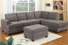Icon of Admirable 2 Piece Sectional Sofas with Chaise Flooding Interior with Attractive and Comfortable Vibes