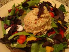 Sweet 'n Nutty Un-Chicky Salad