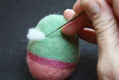 "Have fun making a colorful basket of needle felted Easter eggs with this quick and easy tutorial. This is 2nd in a series of 3 needle felting Easter tutorials. Previously we made ""Dot&…"