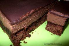 Tortas Mousse Chocolate / Frutilla | La Dimensión Vegana