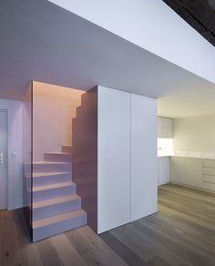 Appartement P : Régis Botta - Architectures Exterior Design, Interior And Exterior, Duplex, Easy Jobs, Piece A Vivre, Decoration, Building A House, Architecture Design, Minimalism