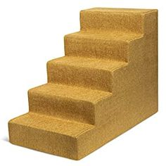 awesome Best Pet Supplies USA Made Pet Steps/Stairs with CertiPUR-US Certified Foam for Dogs & Cats Relieves Stress: Our stairs are the perfect accessory to help pets reach that high bed or couch! Available in 3-step, 4-step, and 5-step configurations to easily match your furniture's height. Supports Pet Health: Made with mattress-grade cushioning to relieve pressure on paws and joints. Save T... Stairs Covering, Dog Steps, Bed Furniture, Program Design, Pet Health, Dog Supplies, Dog Bed, How To Relieve Stress, Decorating Your Home