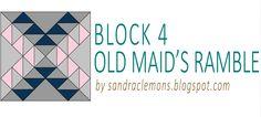 Sandra Clemons: Summer Sampler Quilt Along - Block 4