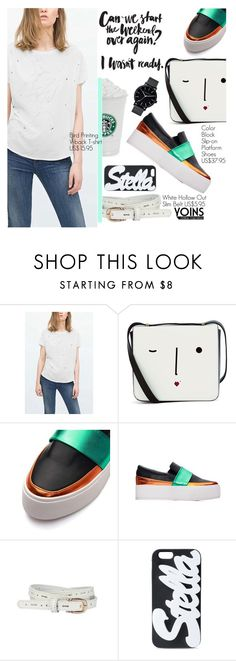 """Yoins 31: Street Style"" by pokadoll ❤ liked on Polyvore featuring мода, Lulu Guinness, STELLA McCARTNEY, The Horse и yoins"
