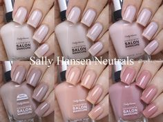 Sally Hansen Play It Neutral This Summer 2016