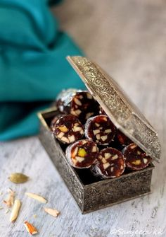 Recipes | Healthy Desserts with Nuts and Dried Fruits -
