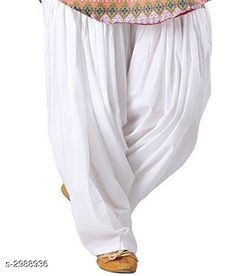 Ethnic Bottomwear - Salwars & Chudidars Stylish Women's Cotton Patiala Salwar Fabric: Cotton Size: 28 in 30 in 32 in 34 in 36 in 38 in Length: Up To 41 in  Type: Stitched Description: It Has 1 Piece Of Patiala Salwar Pattern: Solid Country of Origin: India Sizes Available: Free Size, 28, 30, 32, 34, 36, 38   Catalog Rating: ★4 (891)  Catalog Name: Angela Stylish Women's Cotton Patiala Salwars Vol 19 CatalogID_401375 C74-SC1017 Code: 372-2988936-