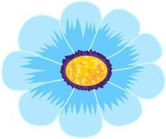 flower petal clip art multi color flower clip art doodling rh pinterest co uk white flower petal clipart flower petal clipart black and white