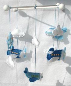 Baby Airplane Mobile