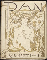 Cover of PAN, published in Berlin 1895-1900.