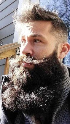 Long Beard Styles, Hair And Beard Styles, Long Hair Styles, Badass Beard, Epic Beard, Great Beards, Awesome Beards, Mens Hairstyles With Beard, Haircuts For Men