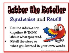 Using beanie babies to represent comprehension strategies is an excellent way to get children to learn and internalize the strategies. This poster ...