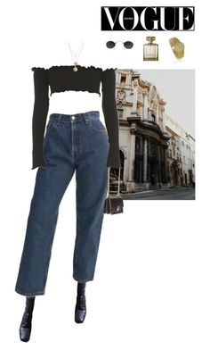 """""""Untitled #974"""" by sofiaskippari ❤ liked on Polyvore featuring Fendi, Yves Saint Laurent, Vintage Frames Company and Piaget"""